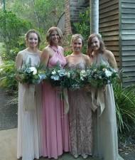 Whimsical Natural Bridesmaid Bouquet