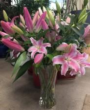 Lillies Mixed Bouquets