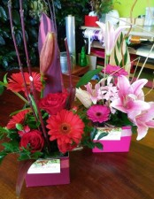 Create Your Own Boxed Arrangement Workshop